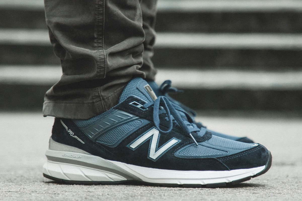 Highlights: New Balance 990V5 Made in US