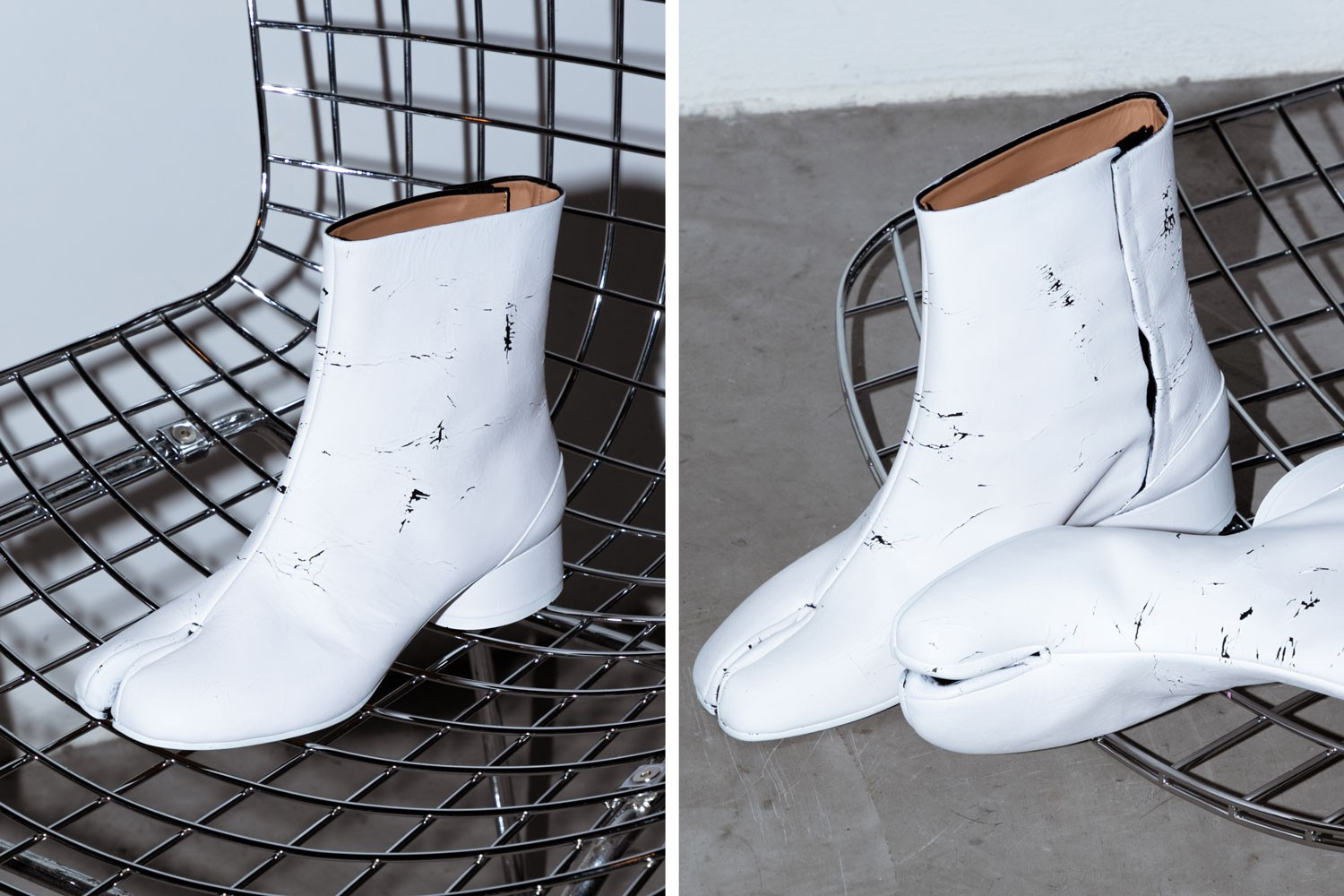 2019 womens fashion maison margiela tabi shoes