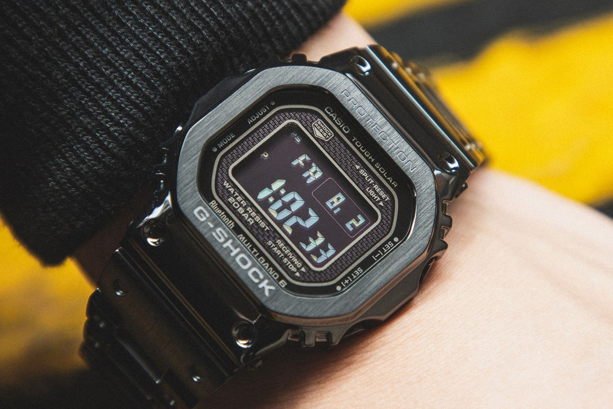 Highlights: Casio G-SHOCK GMWB5000GD