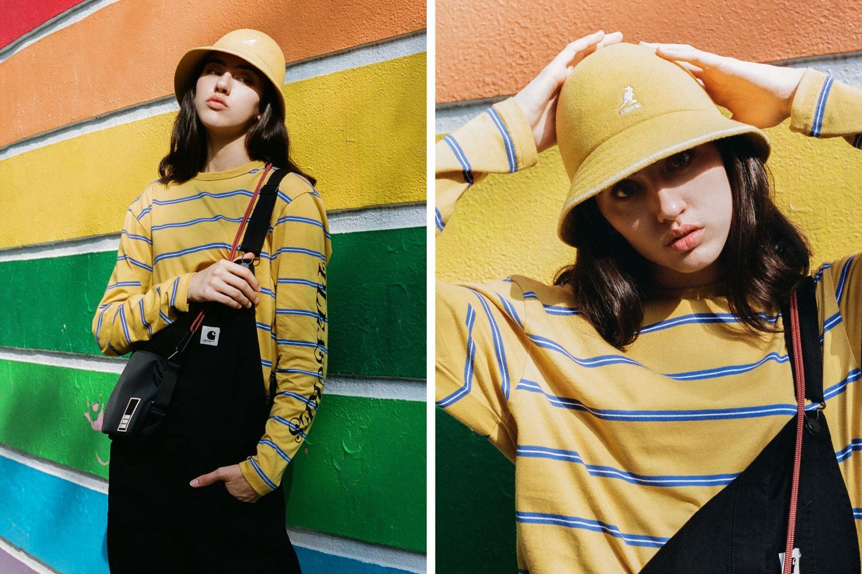 2019 womens fashion kangol bucket hats beret