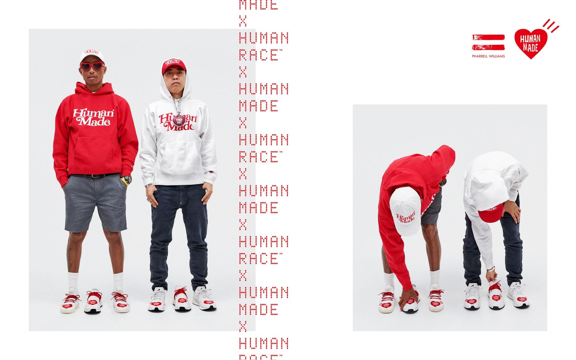 Human Race x Human Made Sneaker Pharrell adidas