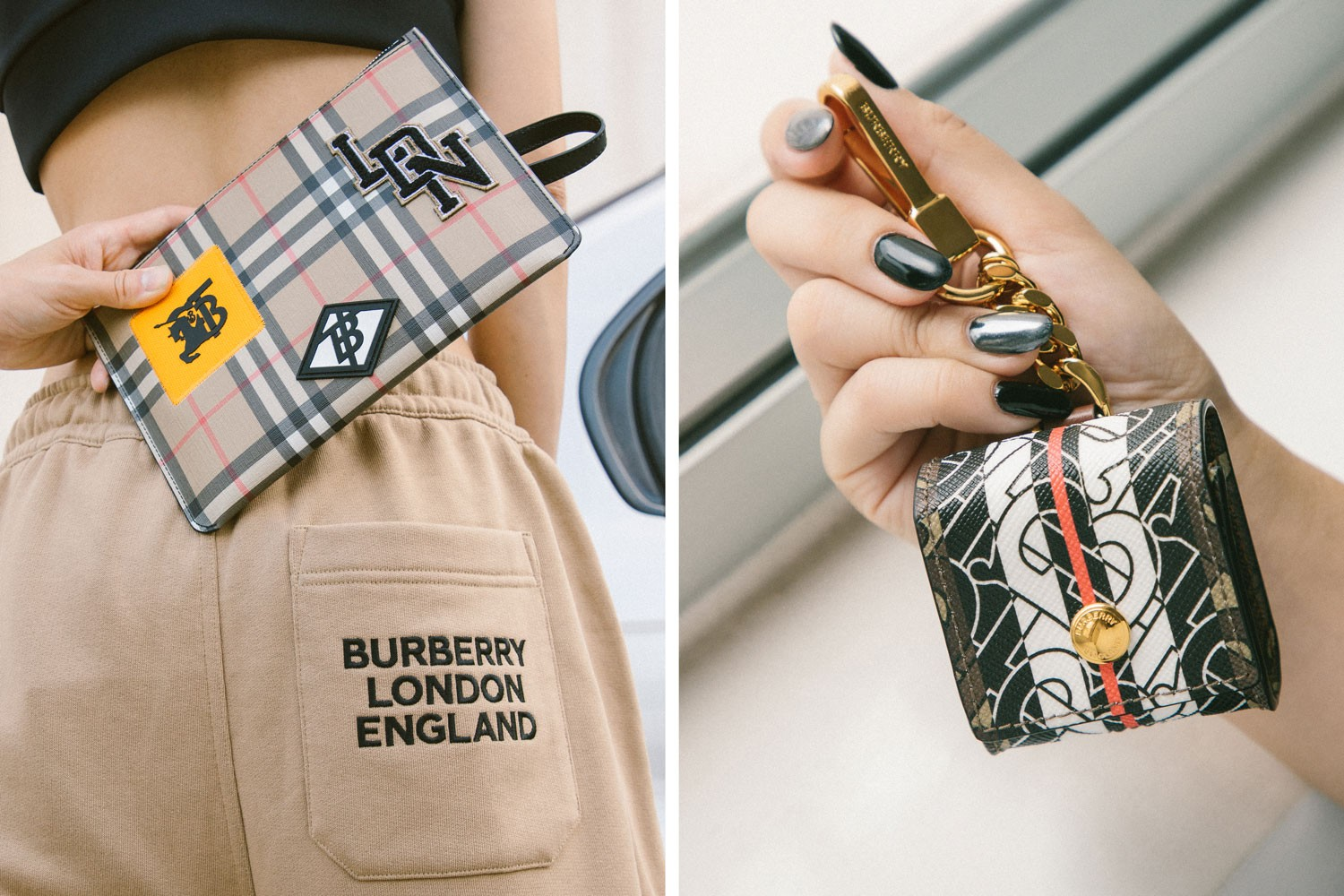 2019 womens fashion burberry bags airpods case