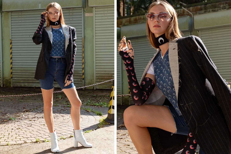 womens graphic tees fashion marine serre kirin