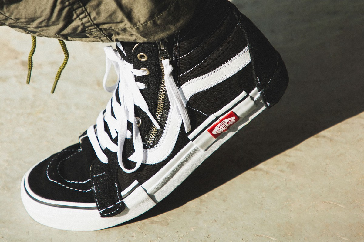 New Deliveries: Vans Sk8-Hi Reissue Cap