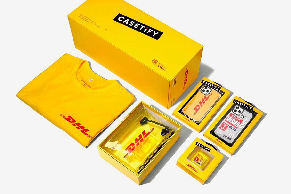 Coming Soon: DHL x CASETiFY 50th Anniversary Collection Box Set