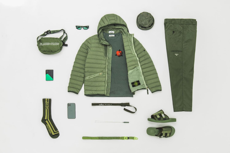 Iphone 11 Midnight Green Men Clothing Streetwear