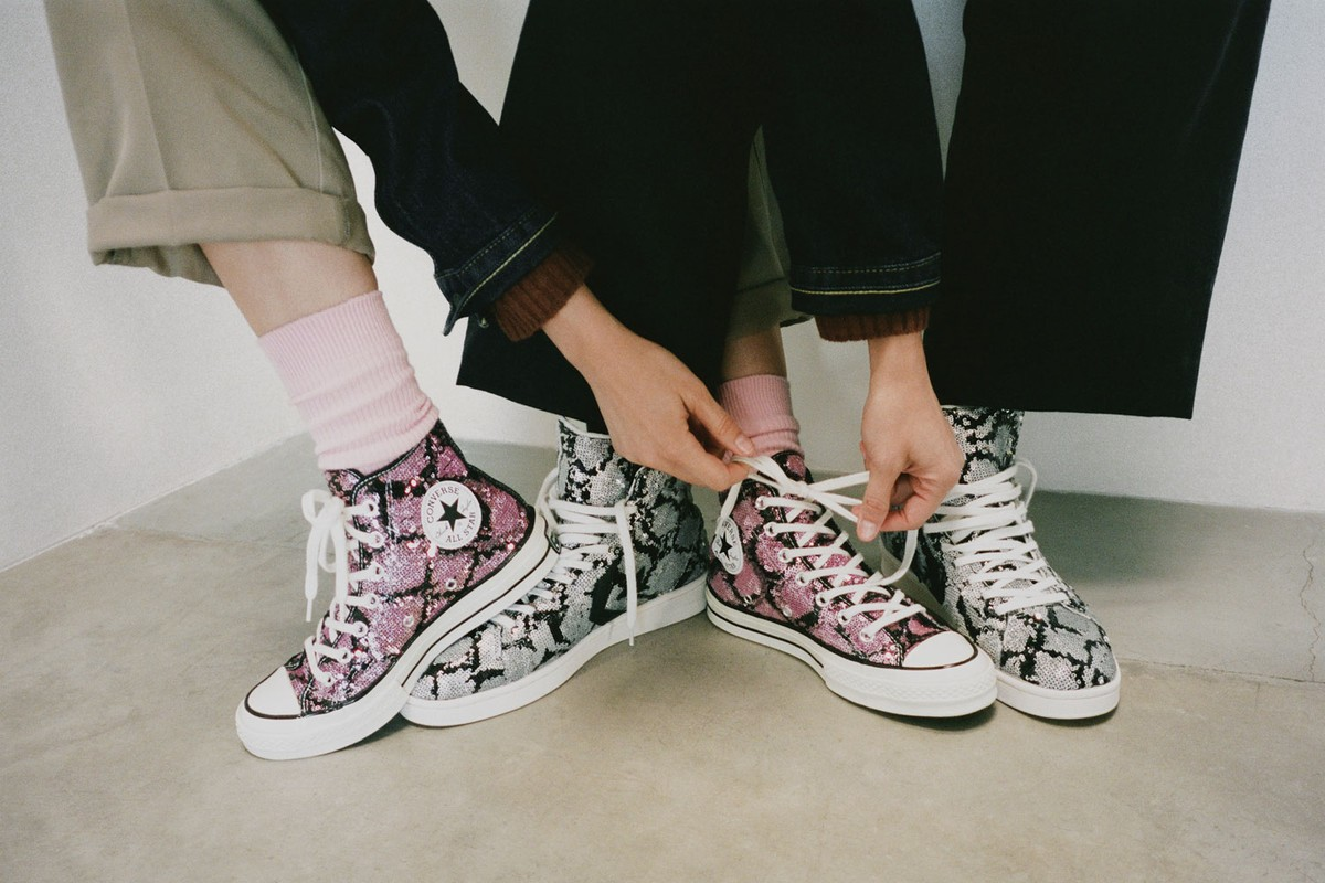 Now Online: Converse Snakequins Pack