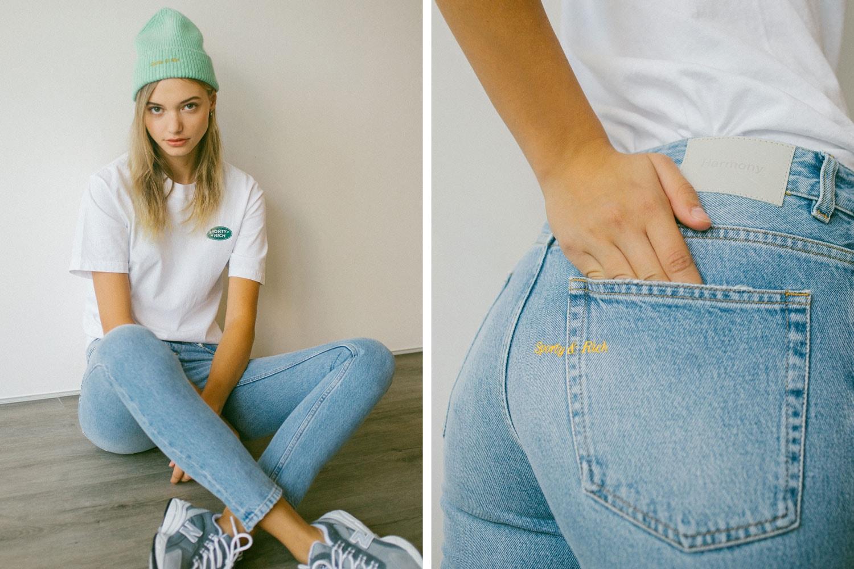 2019 fashion Emily Oberg Sporty&Rich Harmony