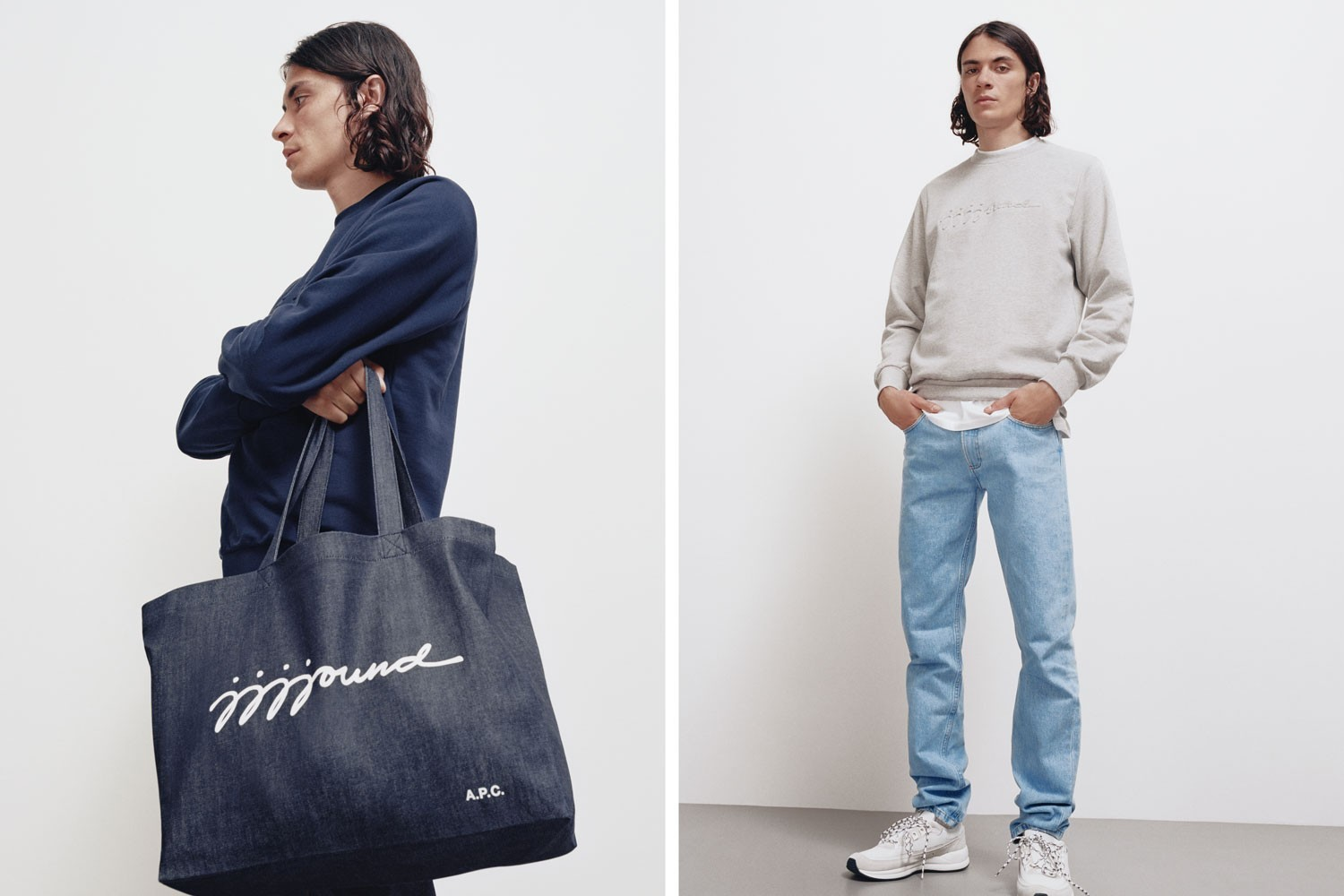 A.P.C. x JJJJound Interaction #4 Mens 2019 Denim