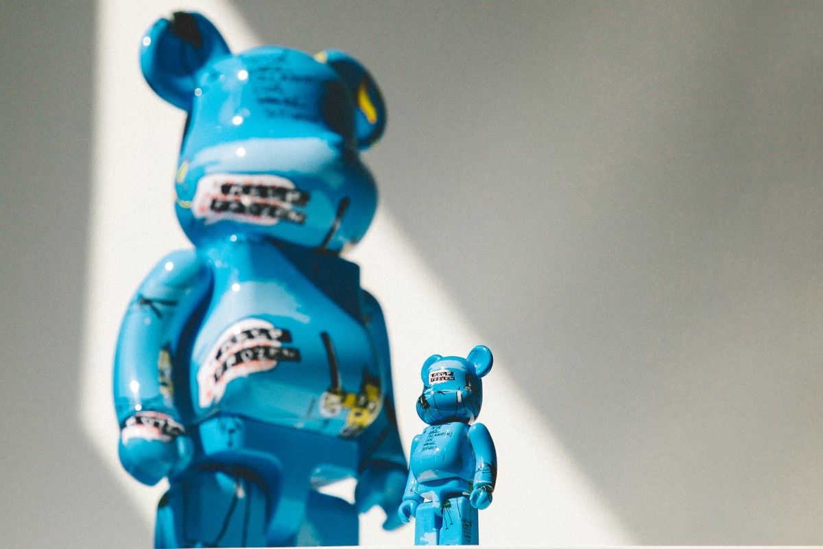 Special Release: Medicom Toy x Jean-Michel Basquiat BE@RBRICK Set