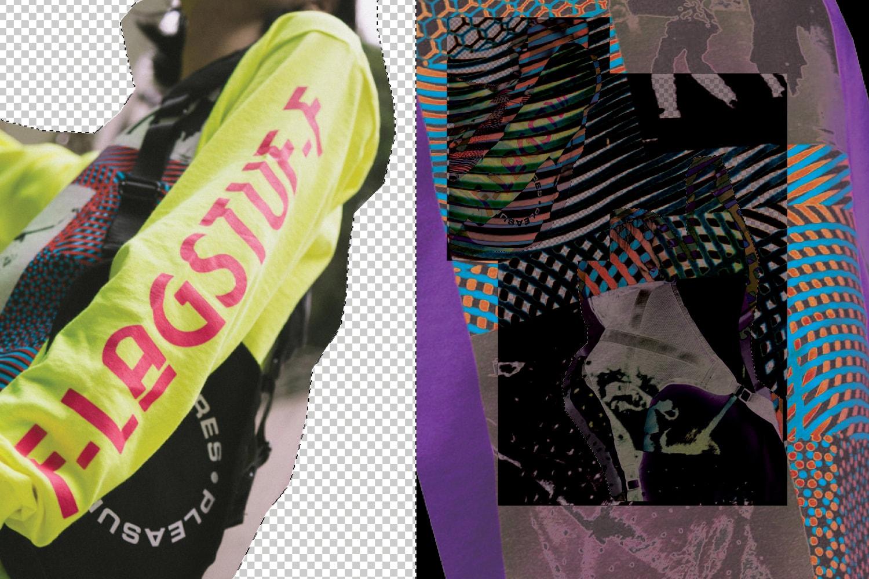 Streetwear Mens 2019 Stussy Pleasures Flagstuff
