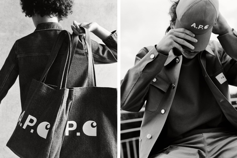 APC Carhartt Collaboration Streetwear HYPEBEAST