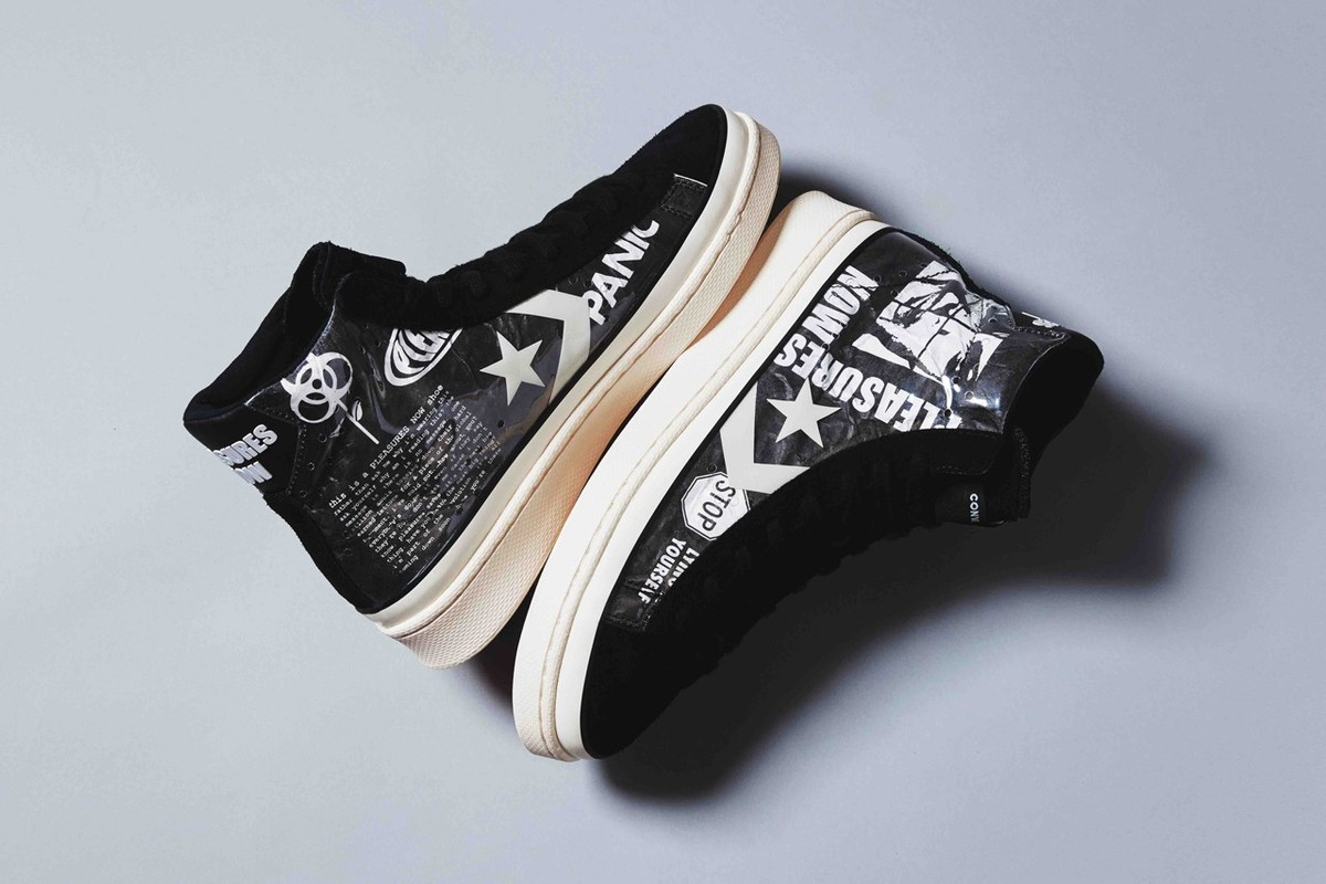 Special Release: Converse x PLEASURES Collaboration
