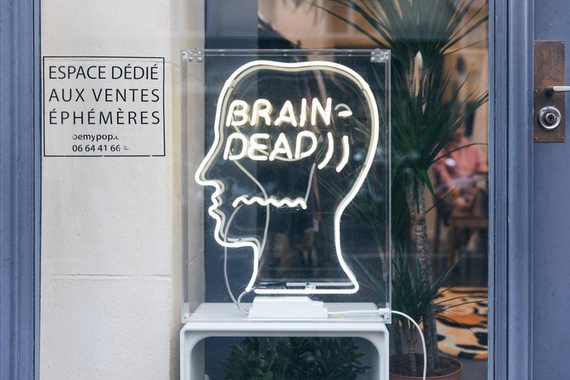 「2020 巴黎時裝週」:HBX 帶你走進 Brain Dead FW20 展示室