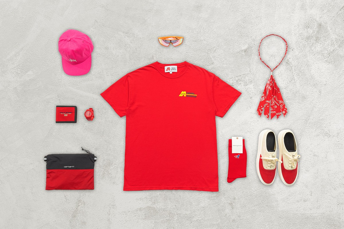 HBX Essentials: Shades of Red