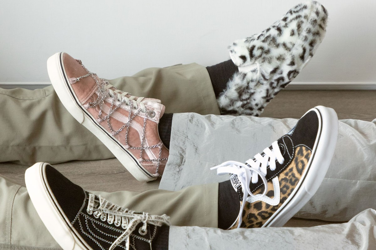 Special Release: Vans x Sandy Liang Footwear Collection