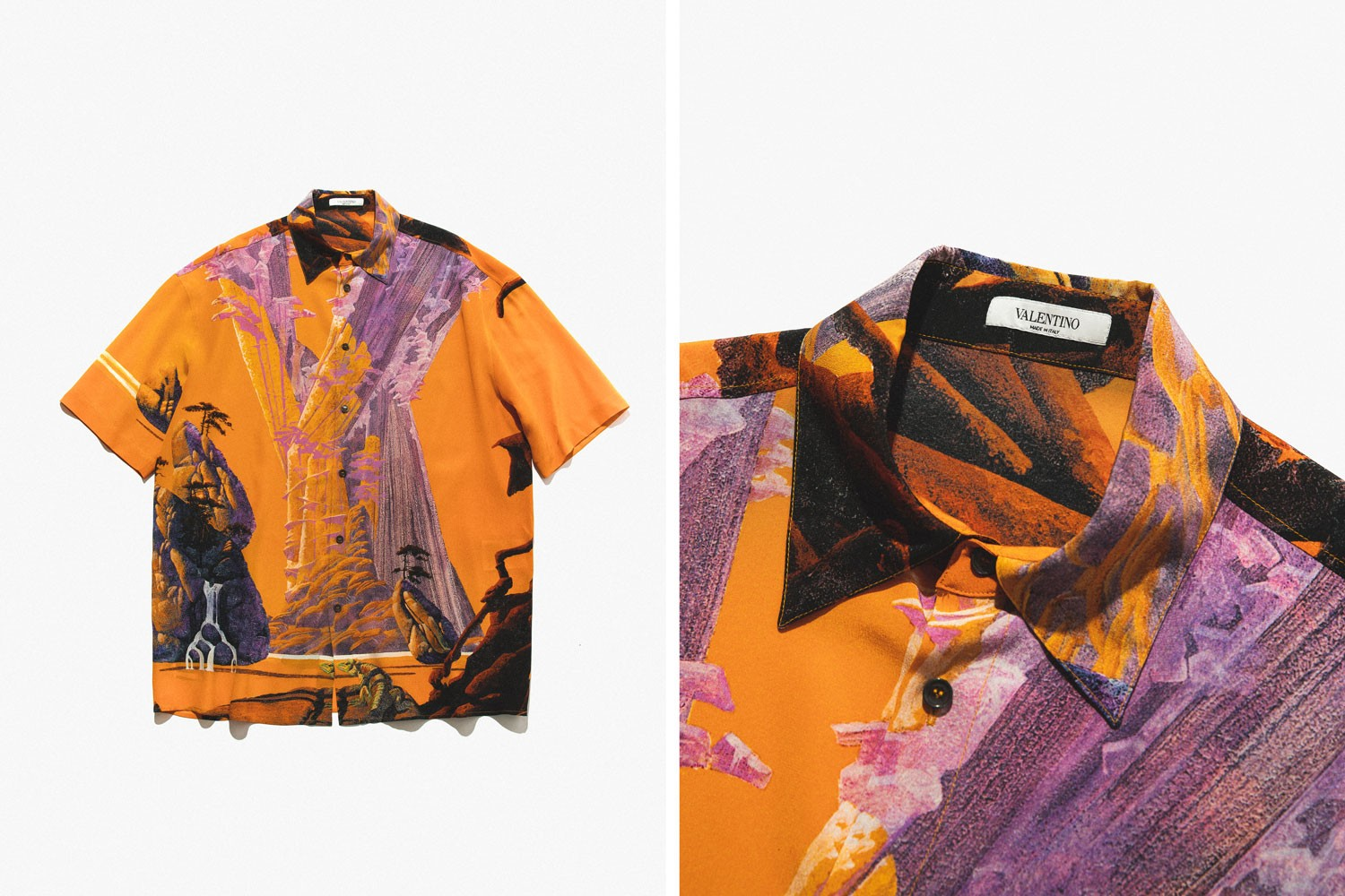 Valentino Spring Summer 2020 Hawaiian Shirts