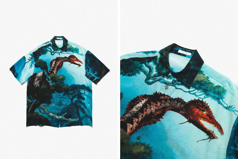 Valentino Spring Summer 2020 Hawaiian Shirts
