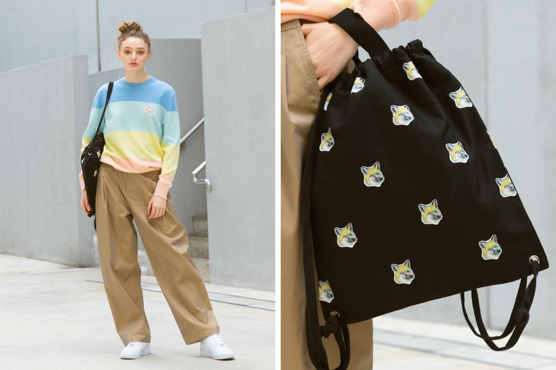 womens fashion clothing 2020 maison kitsune ss20