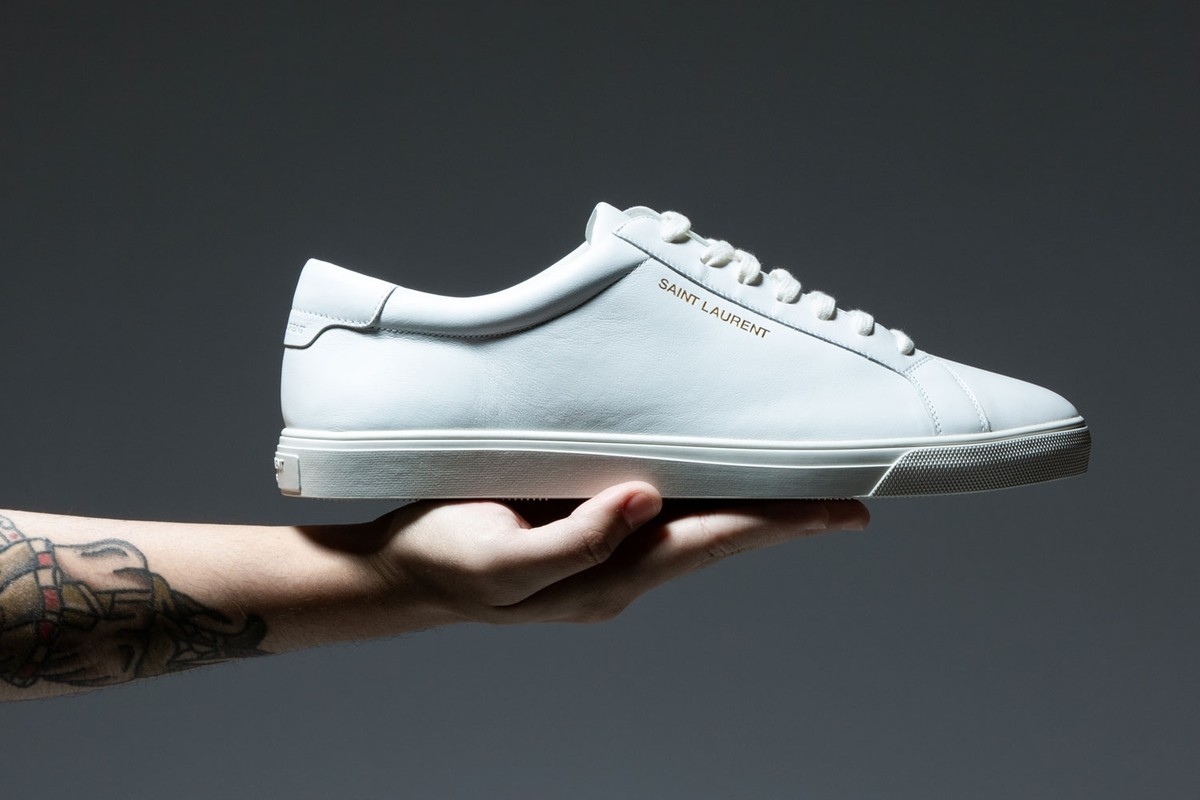 Focus: White Luxury Sneakers
