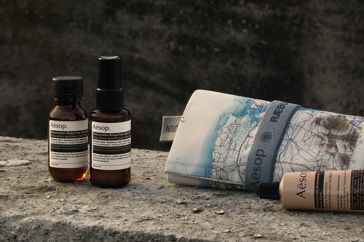 Aesop & RÆBURN Collaborate: A Design For The Times