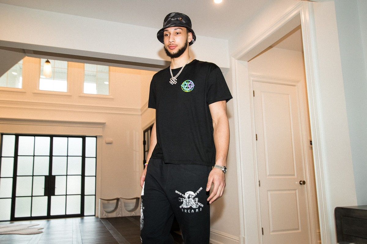 Ben Simmons partners with Woolmark and HBX to launch a limited edition tee