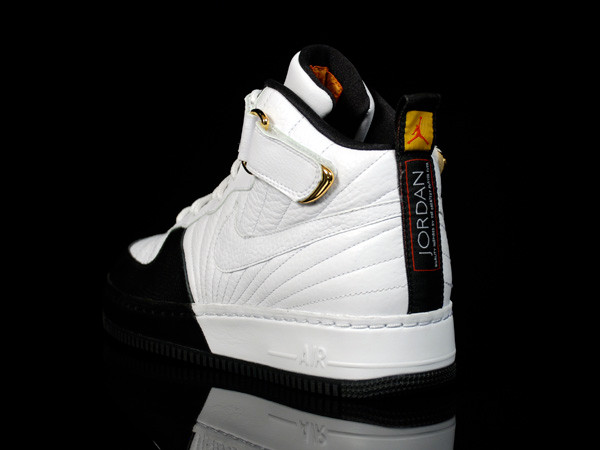 ef18c462532d0c Here s a further look into the Air Jordan x Air Force 1 Fusion pack with  this hybrid Air Jordan XII x Air Force 1 sneaker. The shoe combines the  classic ...