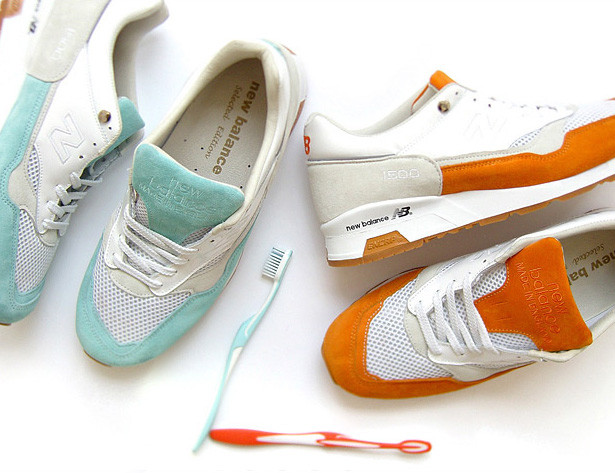online store 42244 1e27d HYPEBEAST x Solebox New Balance 1500 Toothpaste 2 Pack ...