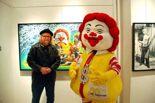 Pop artist Ron English has been behind some of pop cultures most witty and  inspiring pieces. Offering his insight on the corporate world 7c3435c417f4