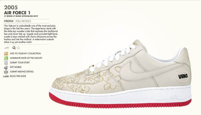 The 1Vote project from Nike allows true die hards of the Air Force 1 to  cast their votes in select areas to determine the areas favorite AF1. 1d70e8d3ab69
