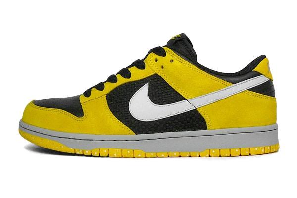 white black yellow nike dunks 2008