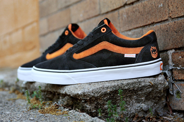 9009ba5e46f8 Two classic skate brands collide in these Spitfire Vans. Using the TNT 5 ...