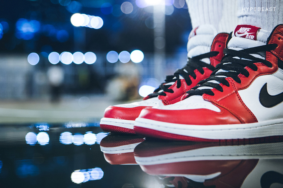"41c0da95e55652 The Air Jordan 1 Retro High ""Chicago"" Has Only Been Released Four Times"