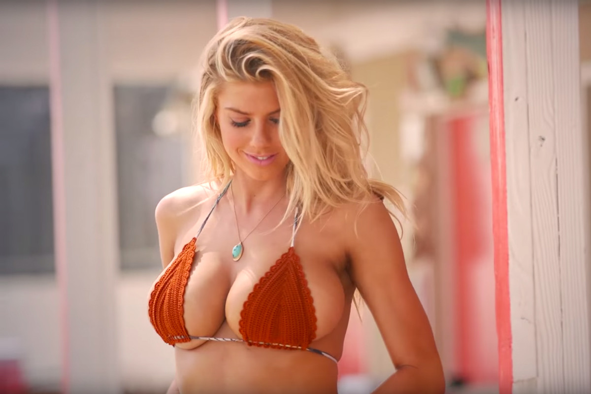 Hot girl with big boobs hypeeast Charlotte Mckinney Is Officially The Gq Girl Of Summer Hypebeast