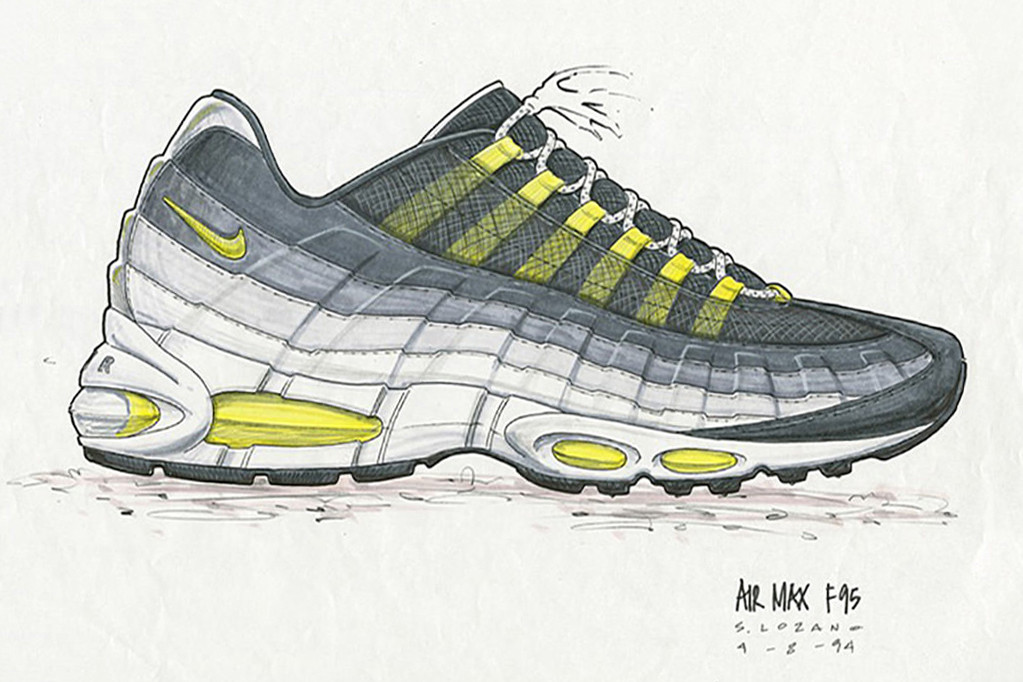 online store a38ca ac707 Nike Air Max 95 Sneaker  The Story Behind the Revolutionary Running ...