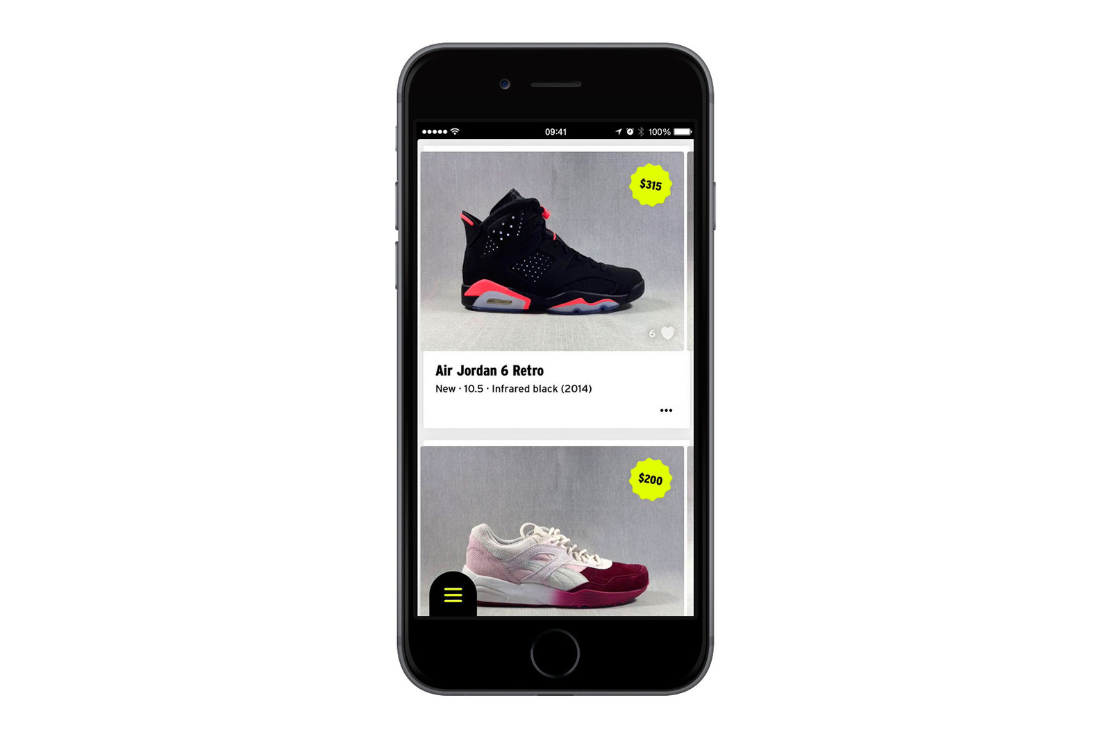 b5b20b8340b5c5 The ever-popular GOAT app deserves an honourable mention for dominating the  market as the most trusted sneaker marketplace