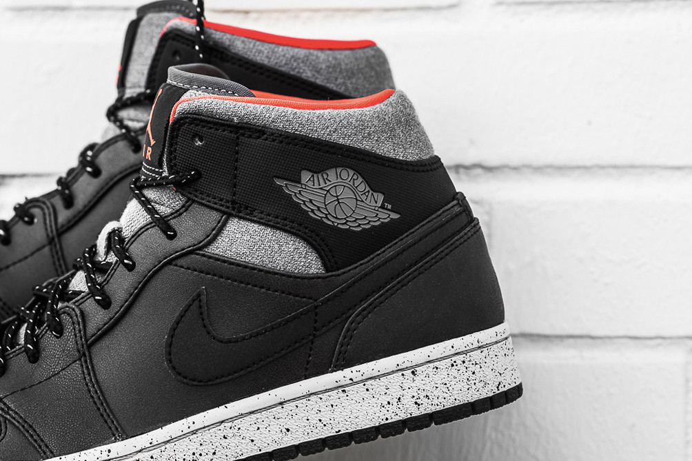 san francisco 660cf f9cb8 You can purchase the Air Jordan 1 Mid Black Dark Grey Infrared 23 for  120  USD from Sneaker Politics.