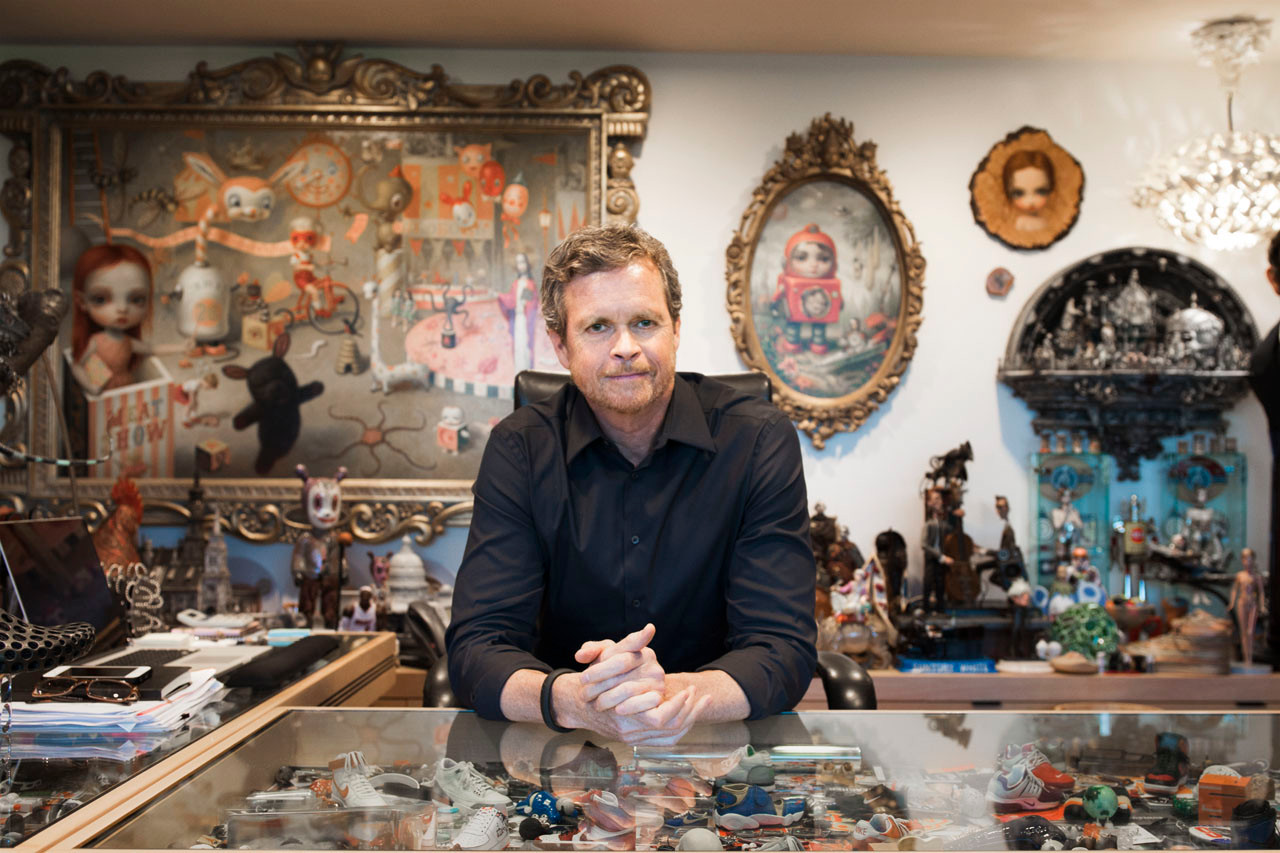 Mark Parker: Details in Nike Collaborations with Sneakers and