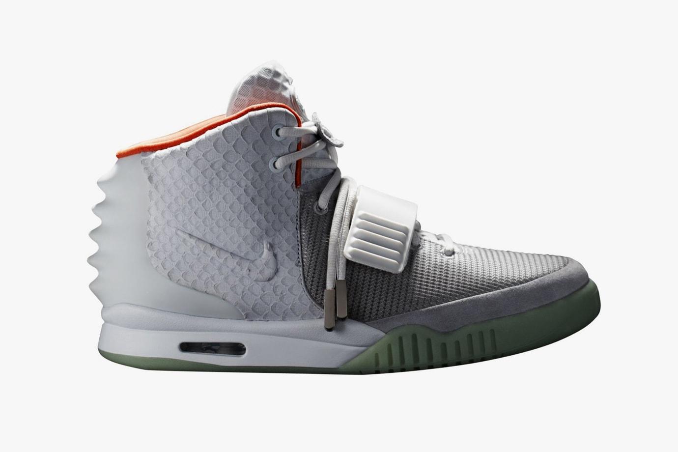 72ff7851e9b6 Kanye West Footwear History Timeline