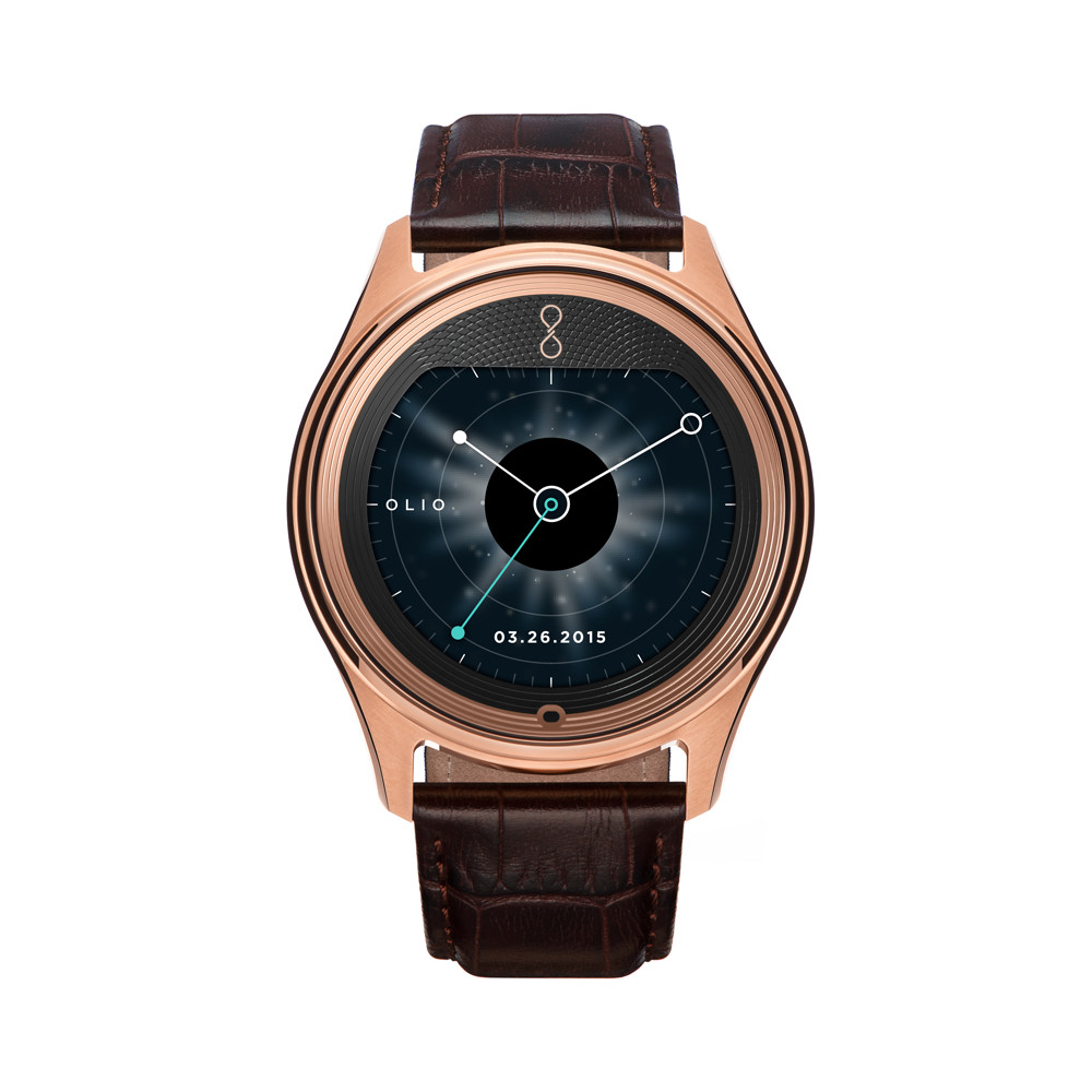 Olio Model One Rose Gold Watch