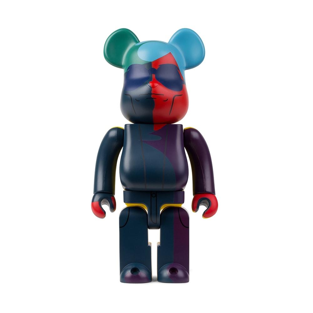 MEDICOM TOY Multicolor 400% Andy Warhol Be@rbrick