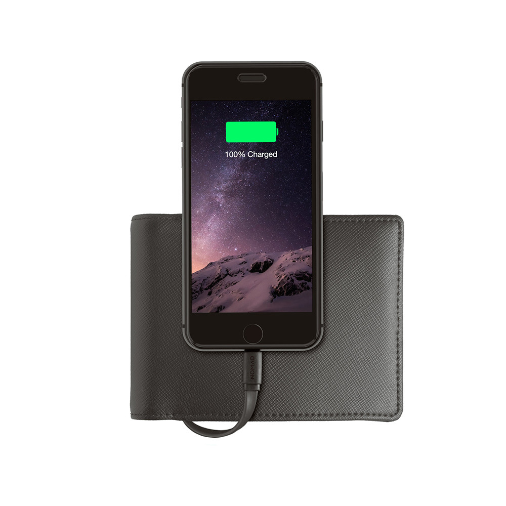Nomad Charger Wallet