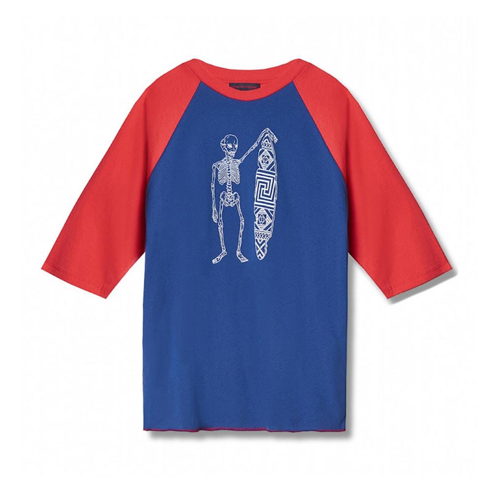 Gosha Rubchinskiy Surfing Skeleton Raglan T-Shirt