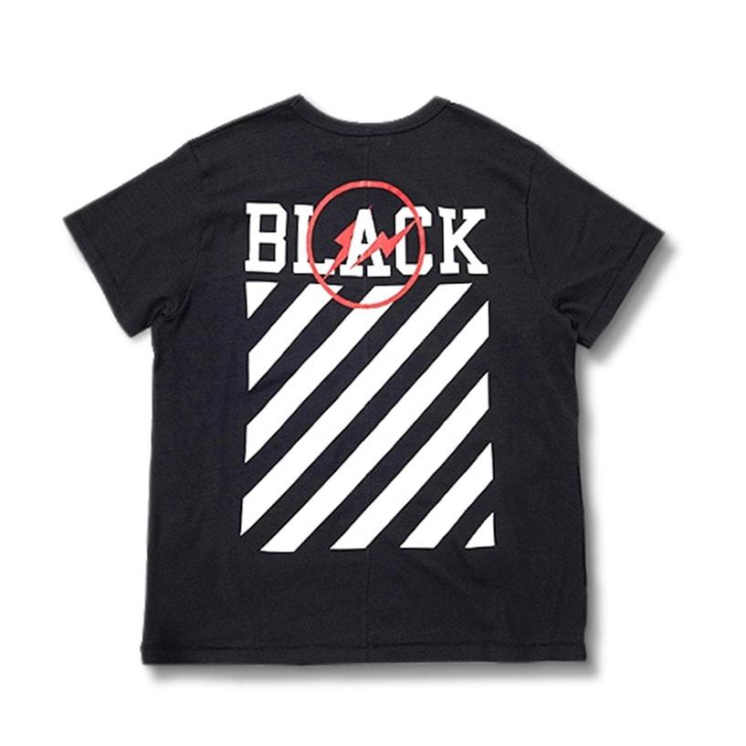 POOL aoyama x OFF-WHITE c/o Virgil Abloh 'OFF-BLACK' T-Shirt