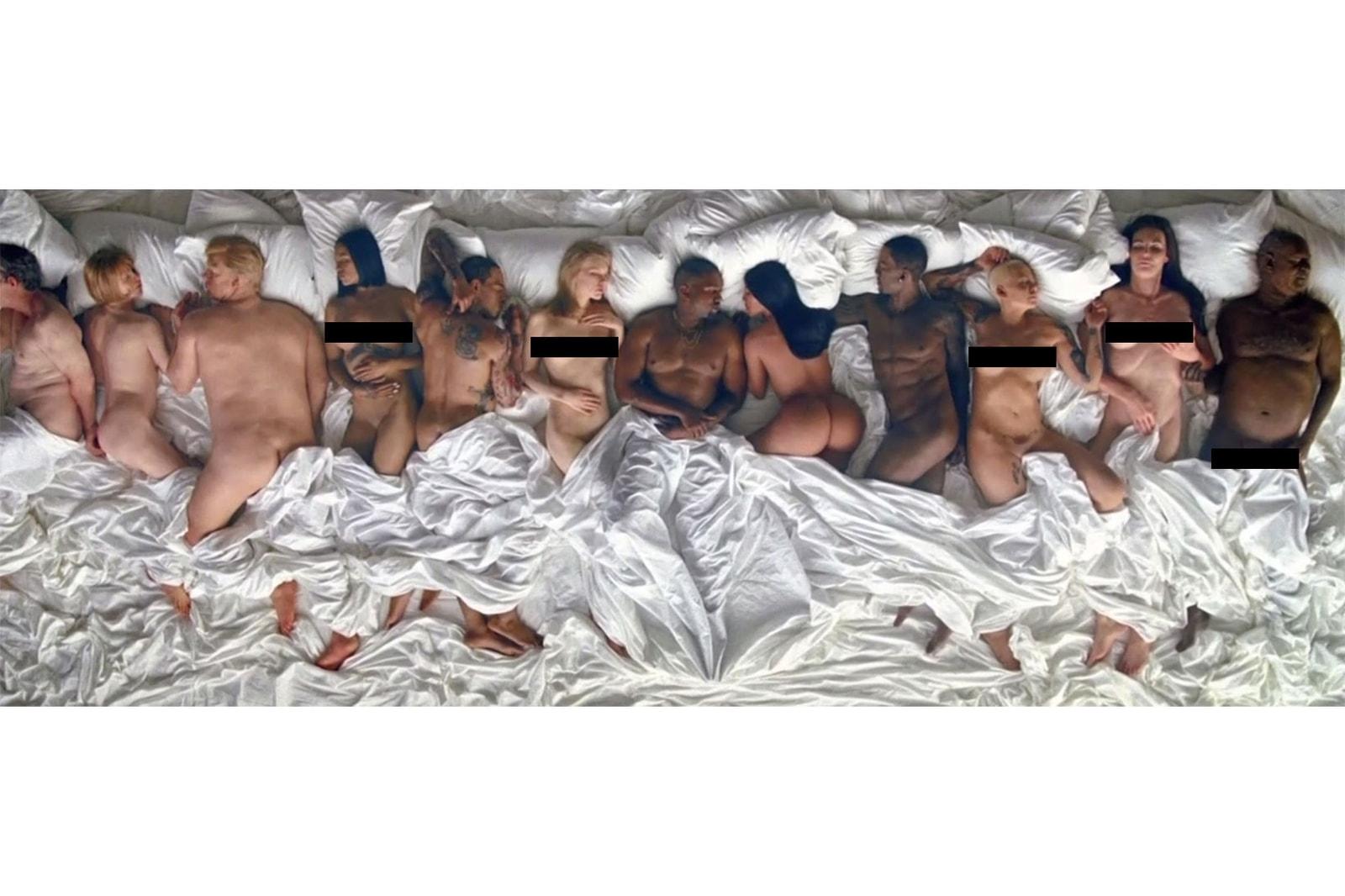 Kanye West, Famous, Vincent Desiderio
