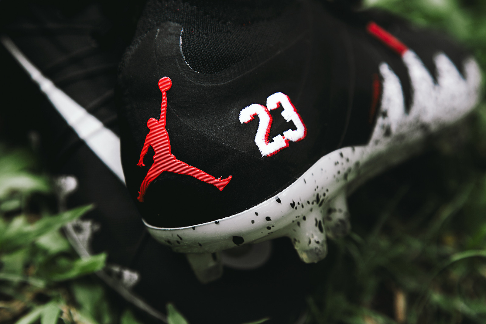 check out 23a8d 391cd Therefore, as one of the most exciting football-related products to come  out in recent memory, we took to the field with the NJR x Jordan Brand  Hypervenom ...