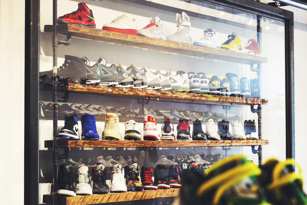 What is your salary if you own your own clothing and sneaker store?