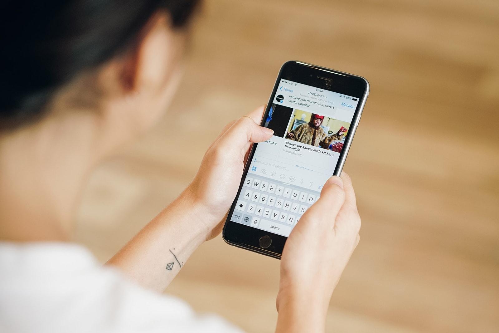 HYPEBEAST Facebook Messenger Chatbot