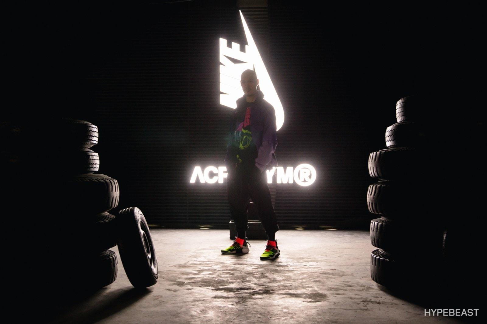 ACRONYM Errolson Hugh NikeLab Air Presto Mid Interview
