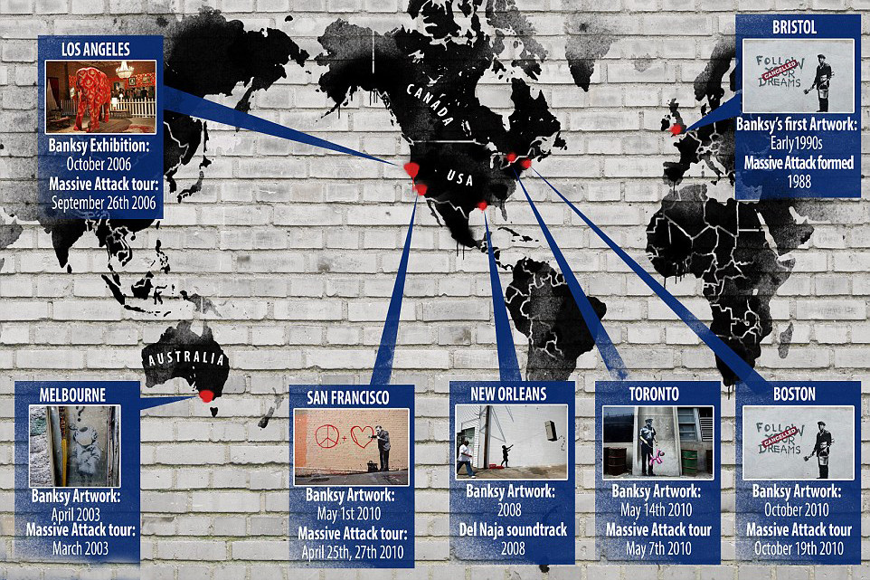 Massive Attack Robert Del Naja Banksy Rumor Untrue